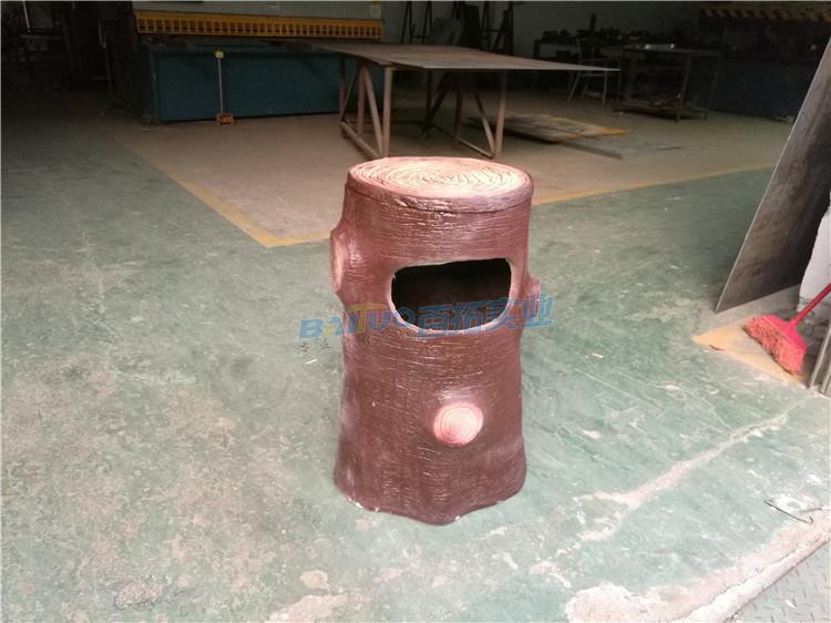 景區用玻璃鋼垃圾桶