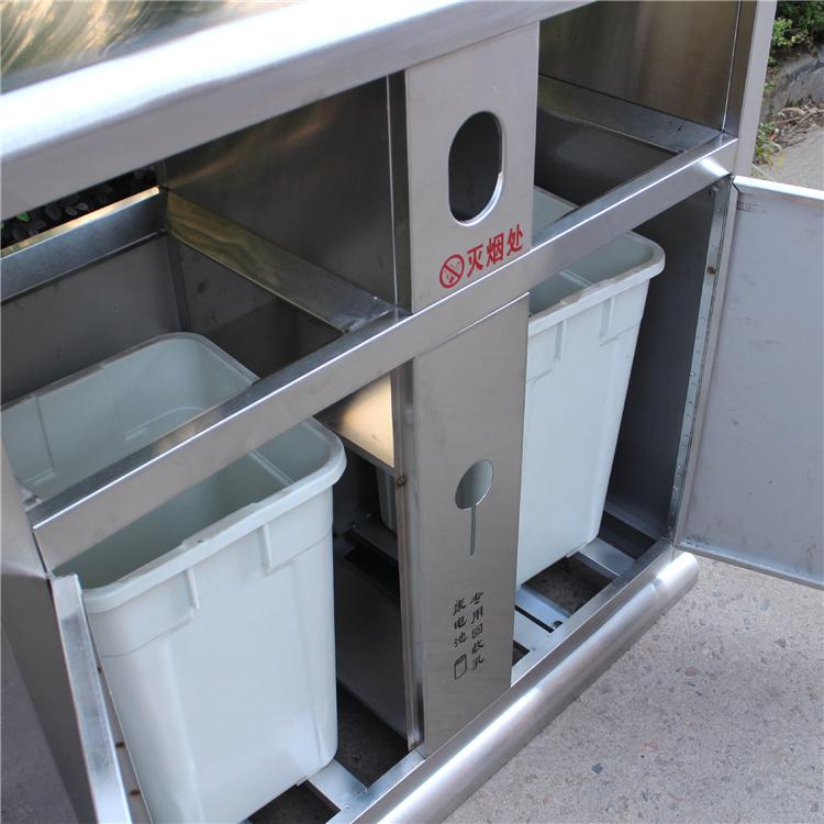 室外实用垃圾桶内部结构