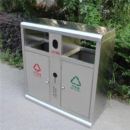 新款不銹鋼戶外垃圾桶