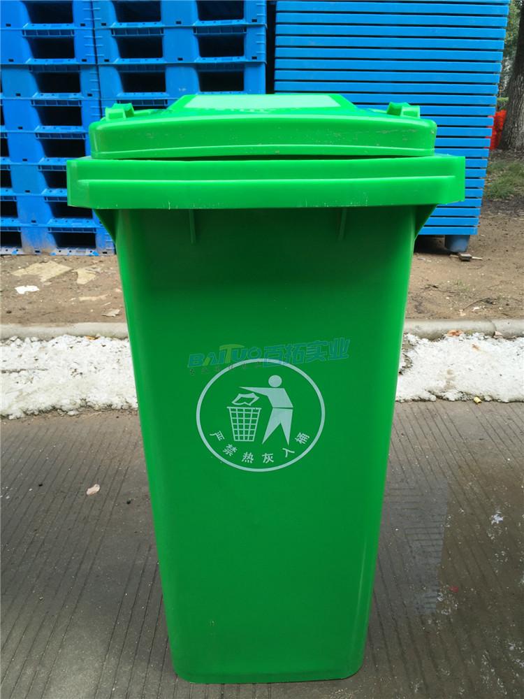 戶外塑料垃圾桶案例展示圖
