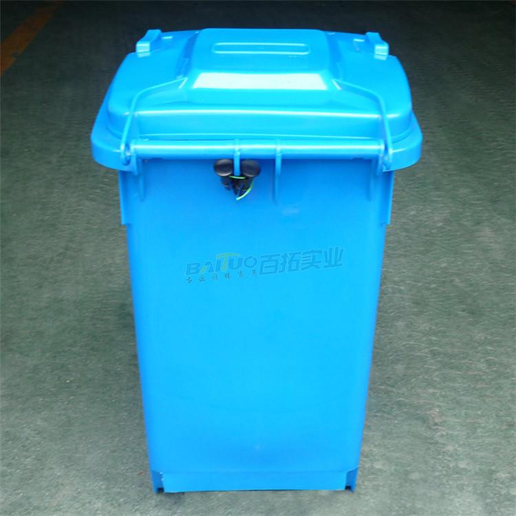 环保户外垃圾桶实物图