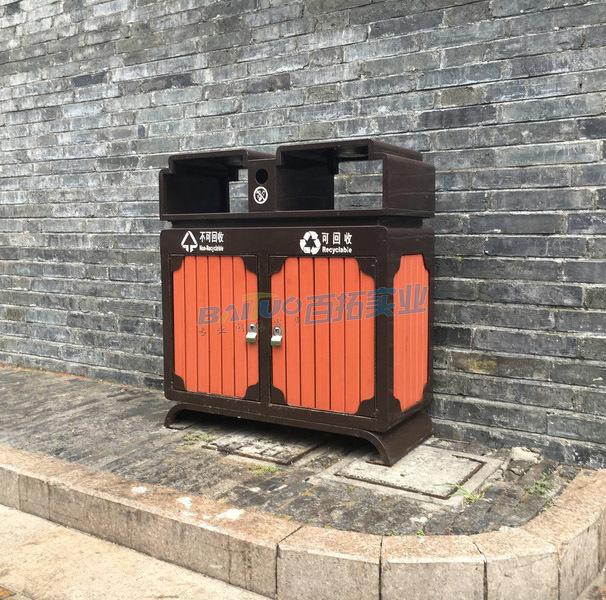 旅游景区生态垃圾桶展示图