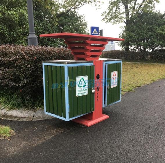 景区卡通垃圾桶