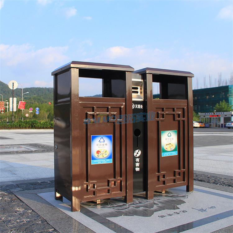 別墅戶外垃圾桶街道展圖