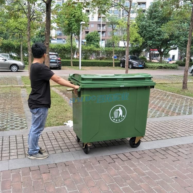 塑料垃圾桶户外