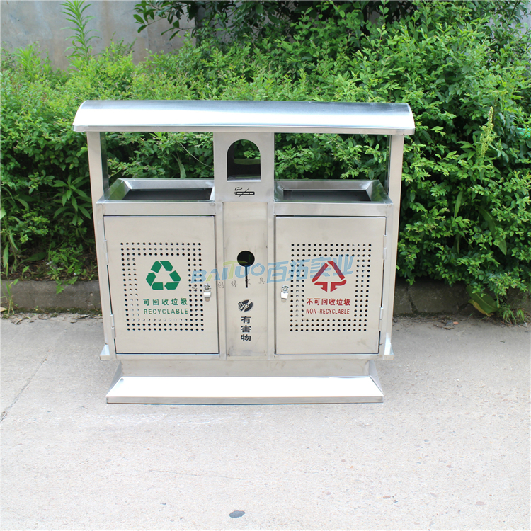 户外垃圾桶不锈钢