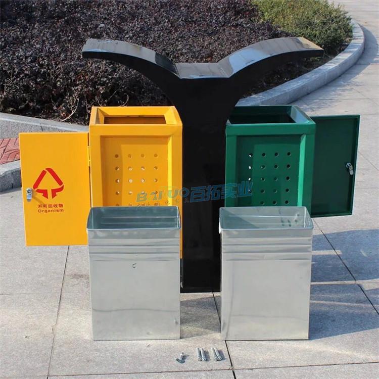 国外公共垃圾桶