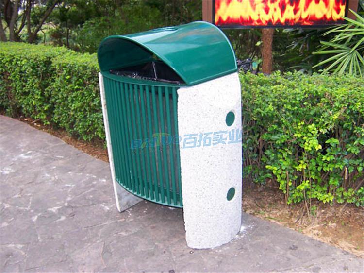 万达小区垃圾桶实物图