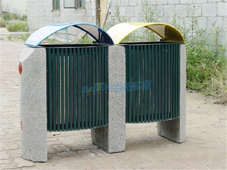 万达小区垃圾桶可定制双桶