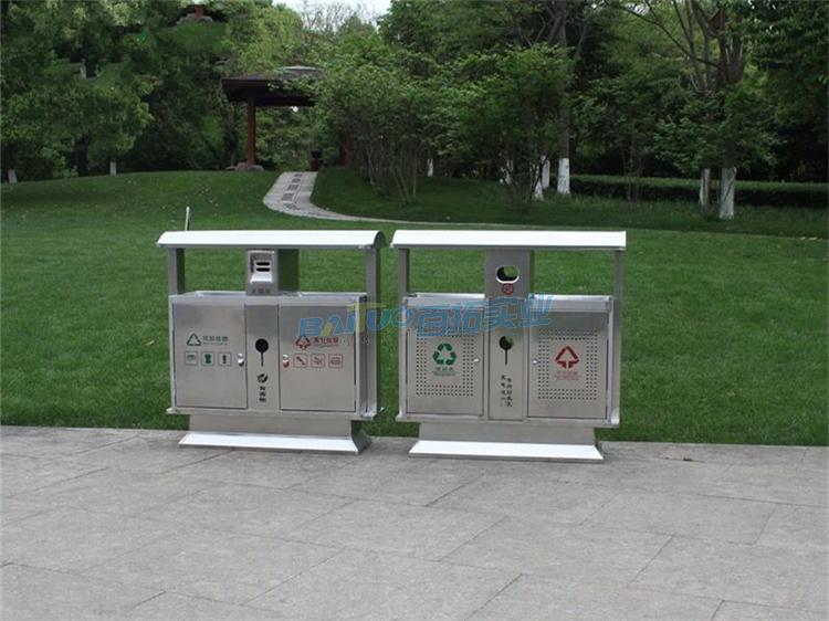 环保景区垃圾桶定制可选择百拓其他款式垃圾桶