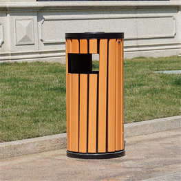 戶外細高垃圾桶