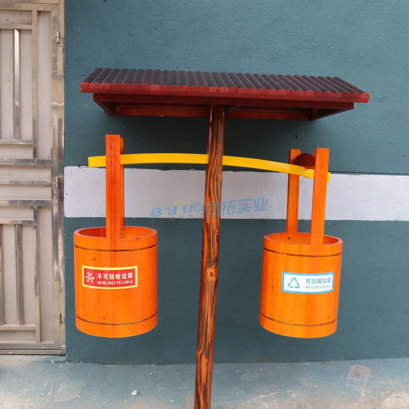 分类景区垃圾桶展示图