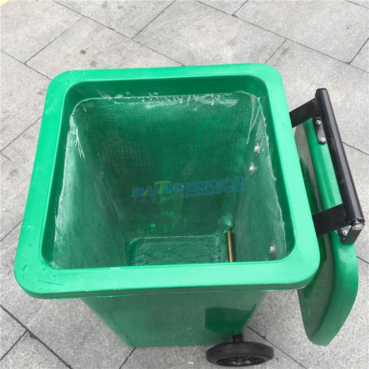 公共区域垃圾桶内部展示图