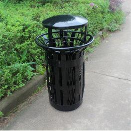 美國戶外鐵皮垃圾桶