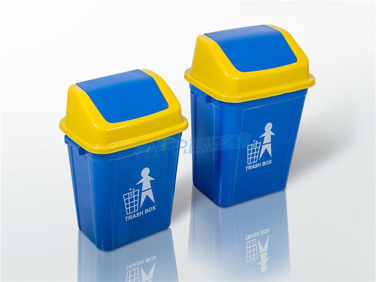 室外塑料垃圾桶展示图