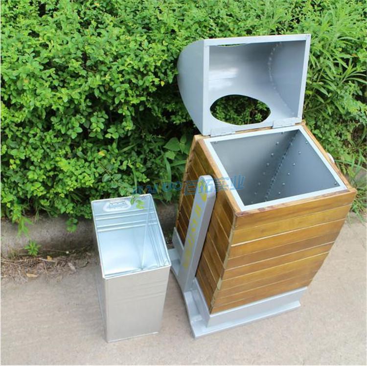 创意公园垃圾桶内部结构