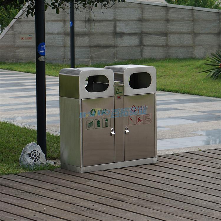 德国公共垃圾桶