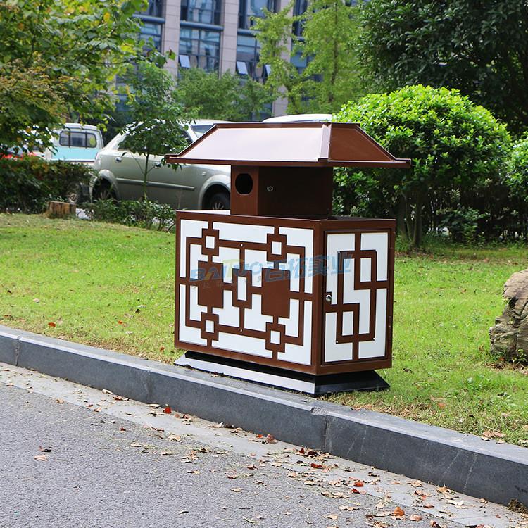 创意景区垃圾桶