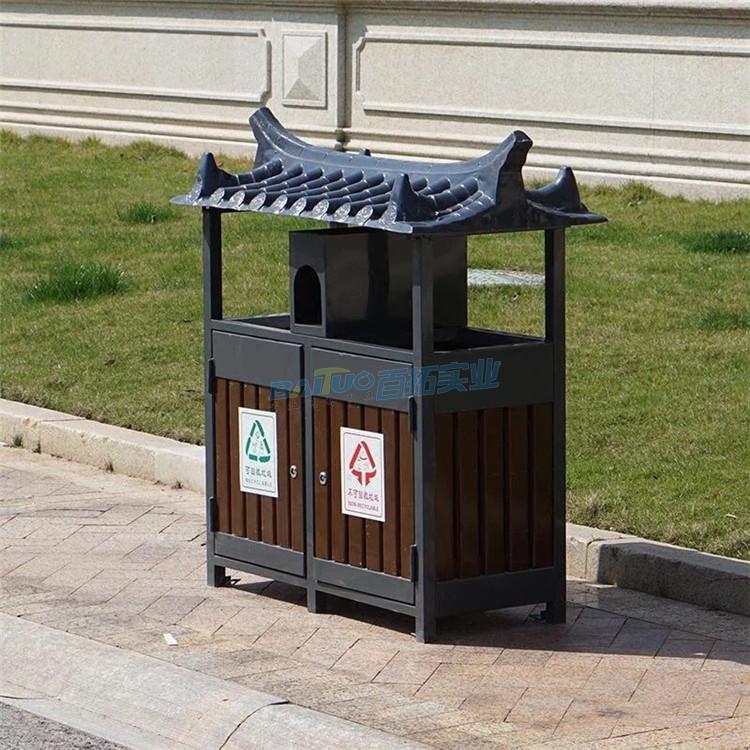 公园创意垃圾桶