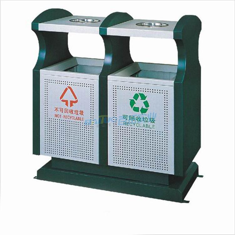 垃圾桶公共设施展示图