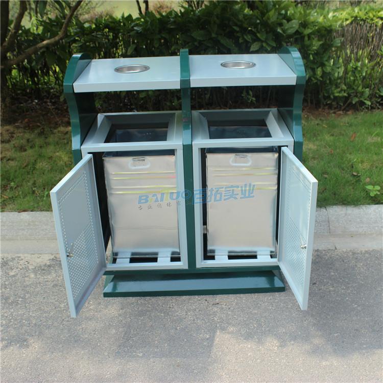 垃圾桶公共设施结构图