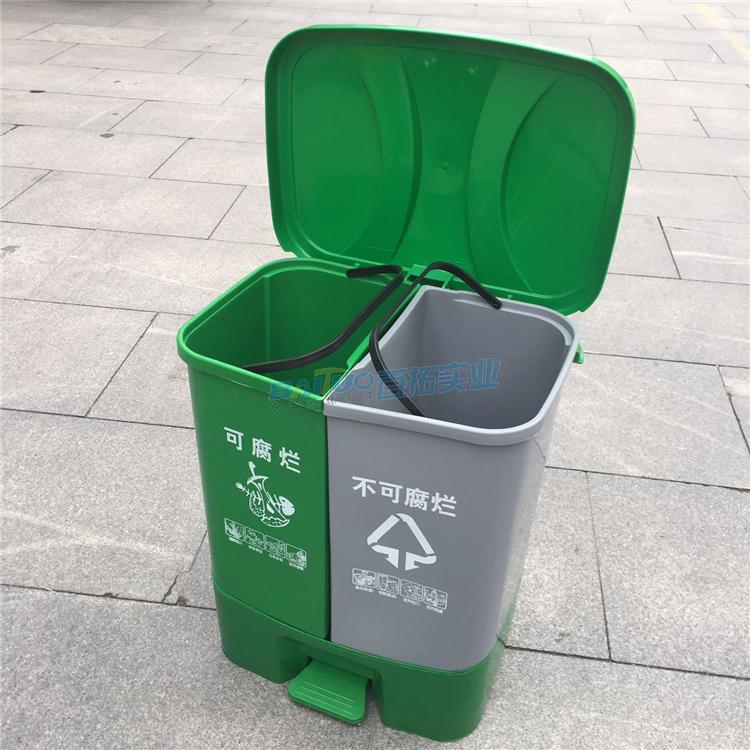 国外公共垃圾桶结构展示