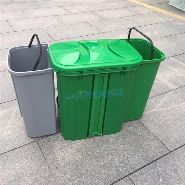 室外垃圾桶尺度图