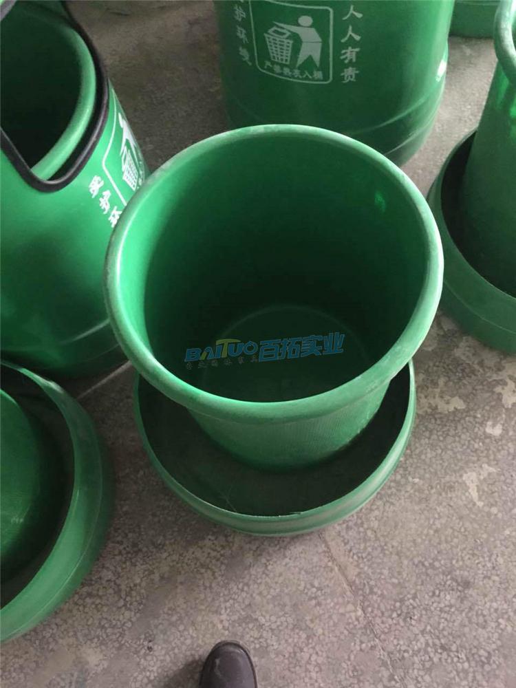 室外树脂垃圾桶结构图