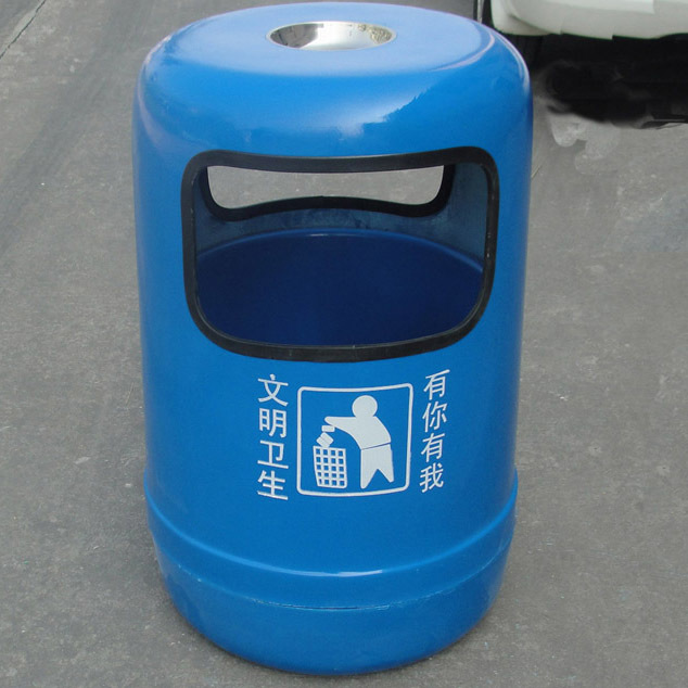 上海街道垃圾桶