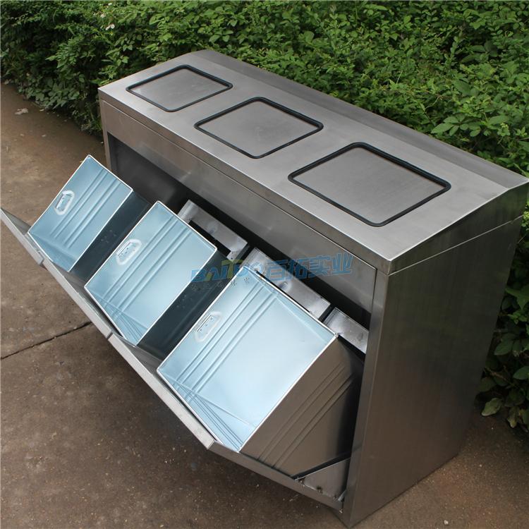 公共三类垃圾桶结构图