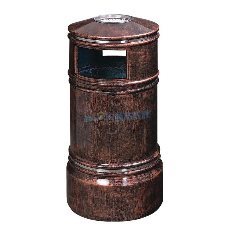 户外金属垃圾桶型号二