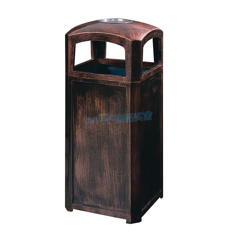 户外金属垃圾桶型号三