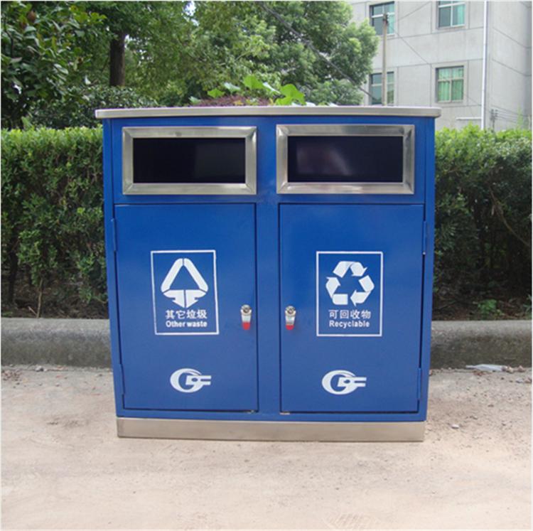 学校卡通垃圾桶