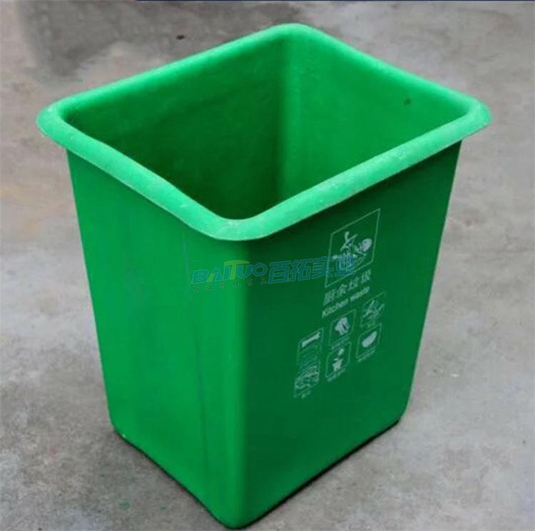 公共小型垃圾桶实物图