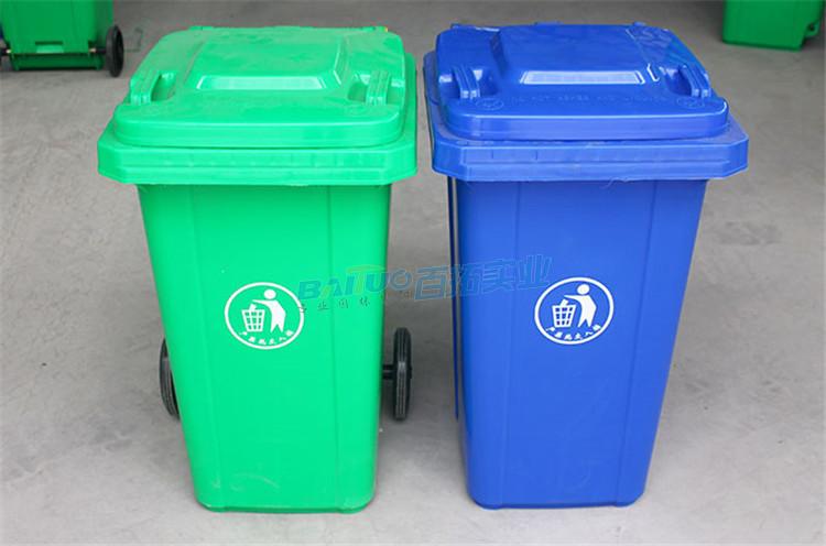 路边垃圾桶实物图