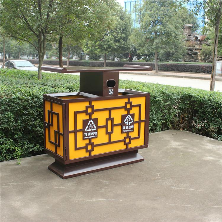 创新公共垃圾桶