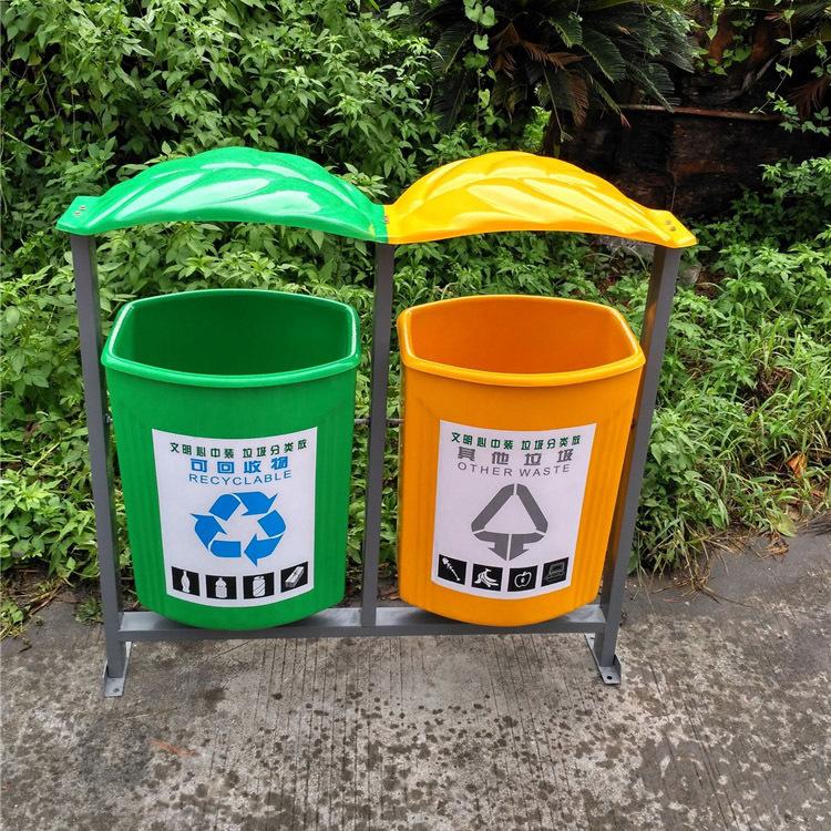 公共卫生垃圾桶
