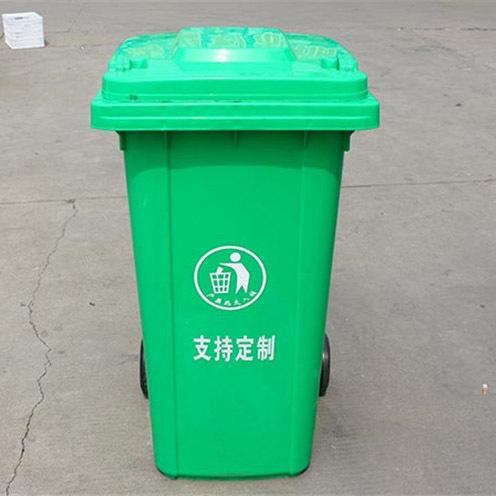 路边垃圾桶