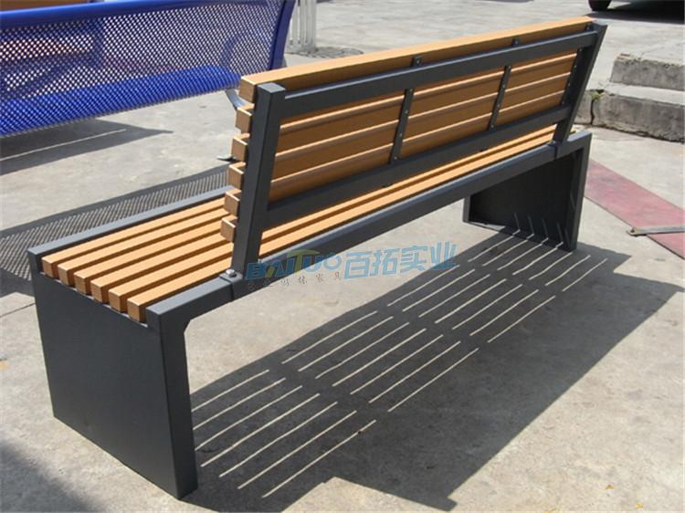 户外休闲凳背面展示图