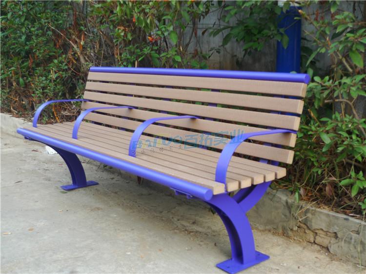 小区户外凳子实物图