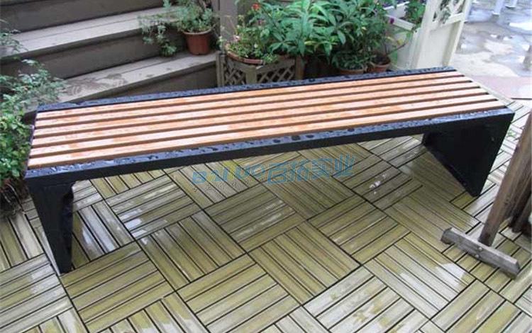 户外长条凳实物图