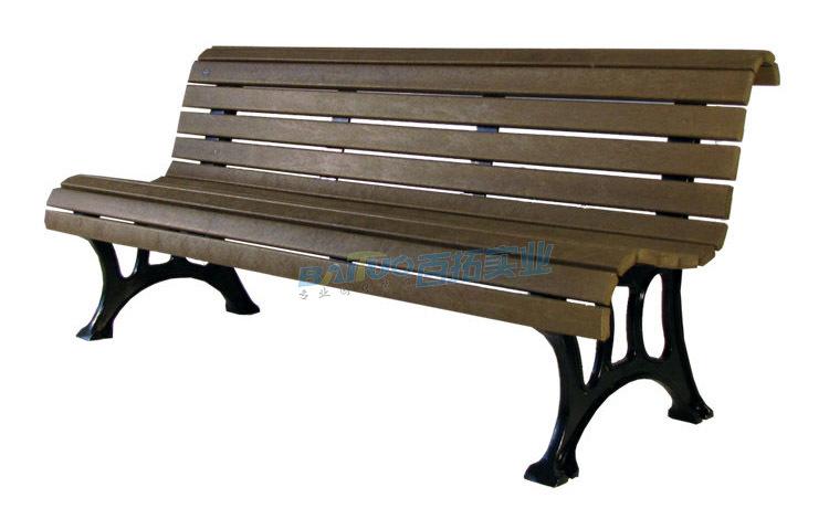 户外公园长凳展示图