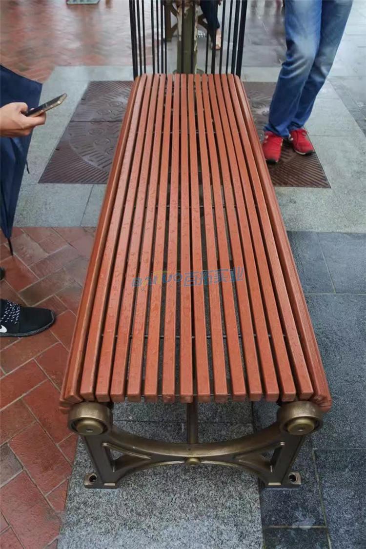 户外樟木坐凳可定制