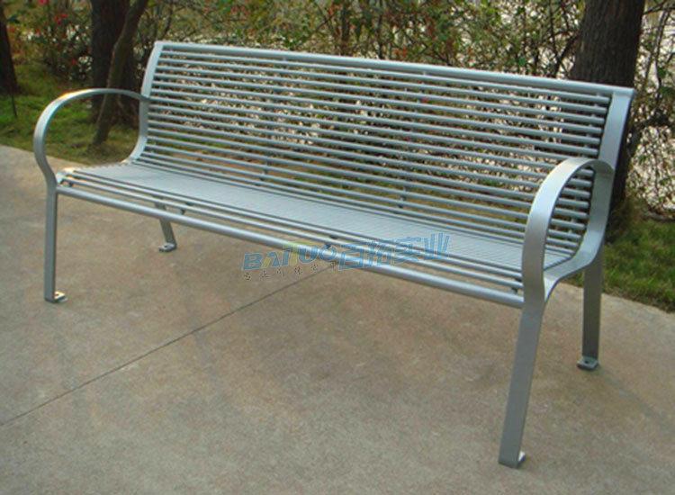 公园户外凳子实物图