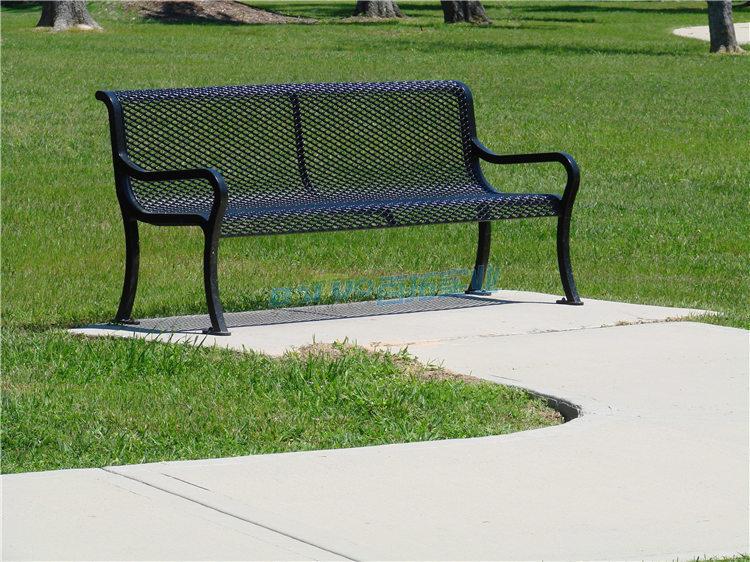 铸铁户外凳实物图