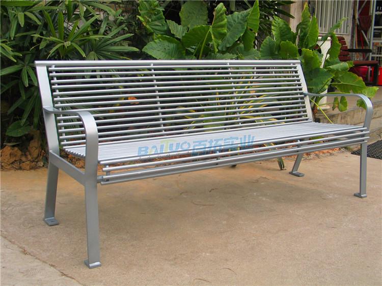 环保类户外坐凳实物图