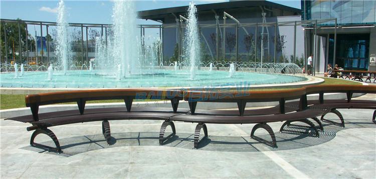 户外创意坐凳实物图