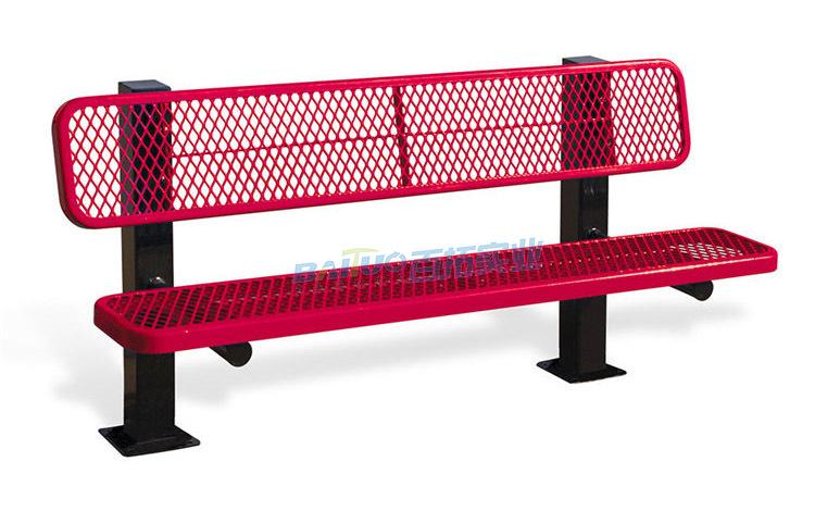 户外铁台铁凳展示图