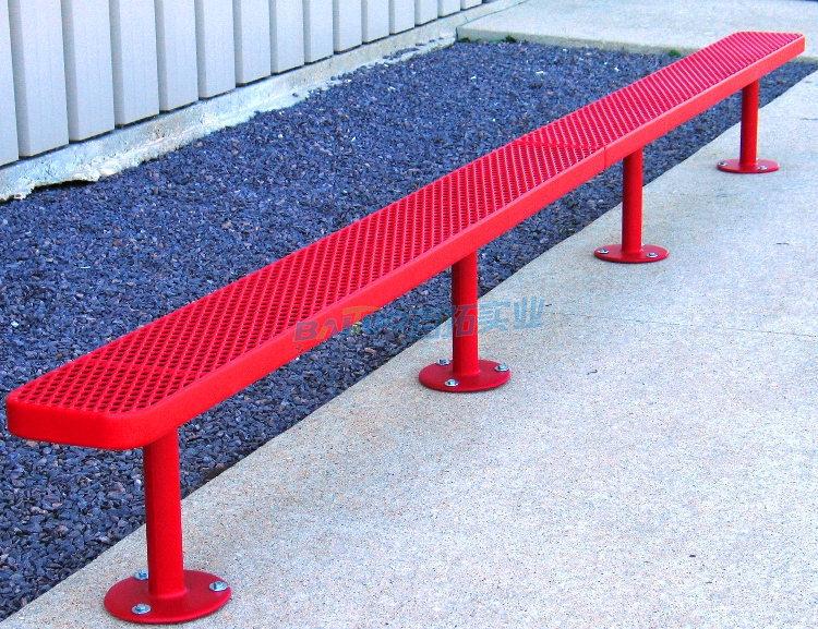 户外铁台铁凳定制型号2