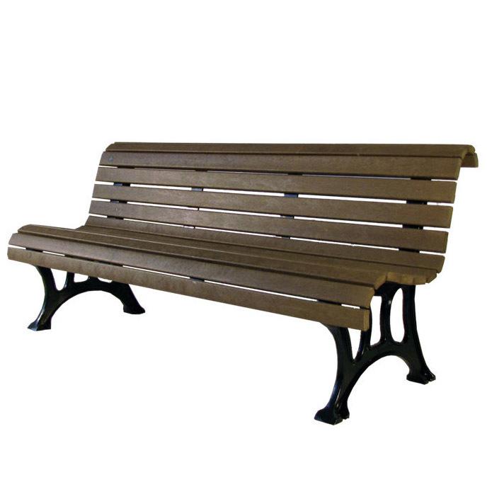 户外公园长凳